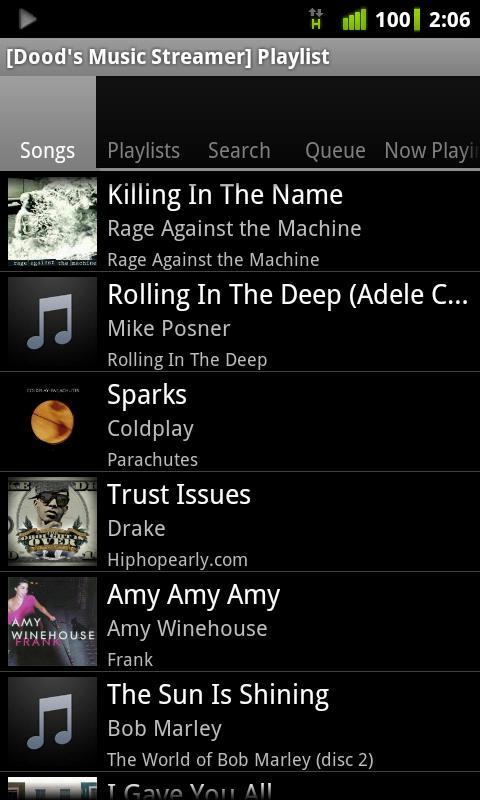 dood Cómo escuchar Grooveshark gratuitamente desde Android