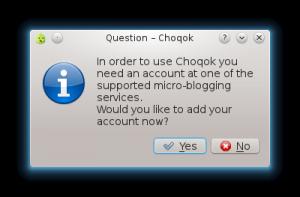 choqok1 300x197 Instalando y configurando Choqok en Fedora 16