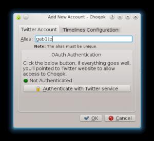 choqok3 300x276 Instalando y configurando Choqok en Fedora 16