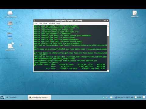 Hacer una imagen ISO de un disco con Ddrescue y analizarla con Foremost