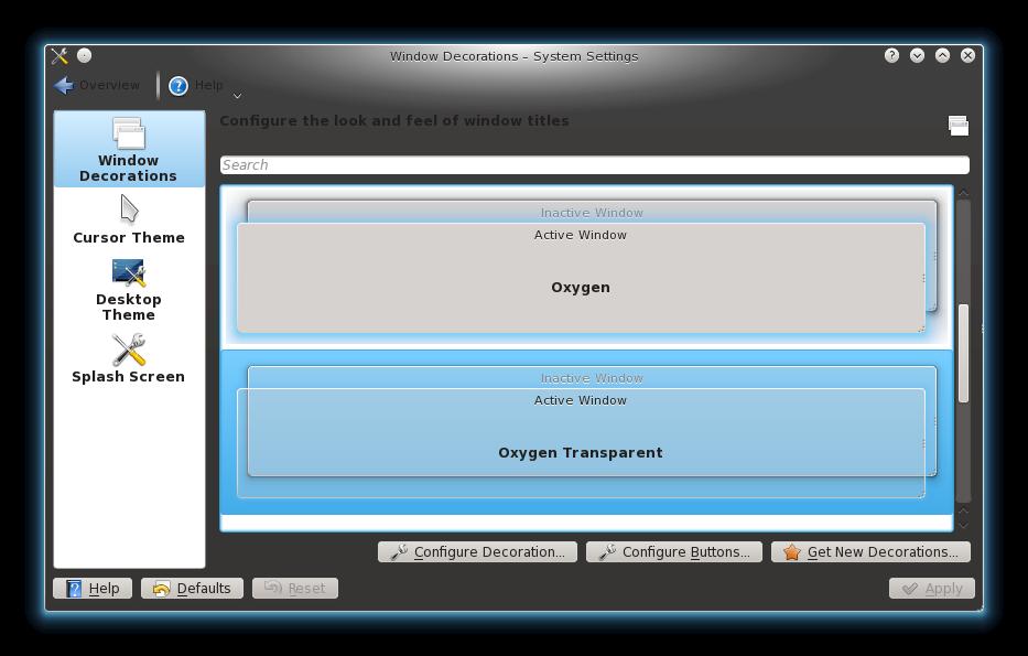 oxygentransparent11 Instalar Oxygen Transparent en Chakra Archimedes