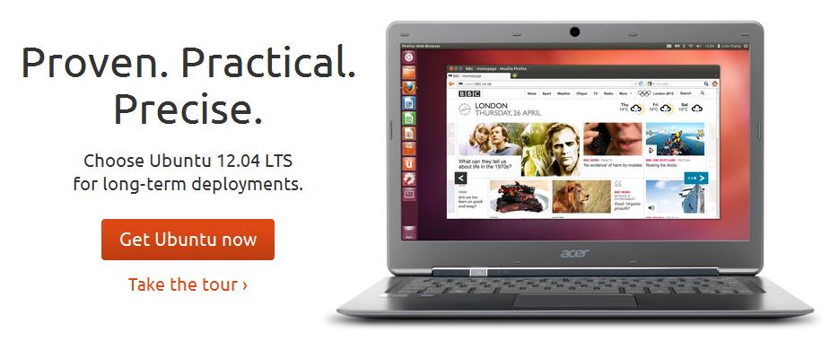 Ubuntu ¡Ubuntu 12.04 LTS Precise Pangolin disponible ya!