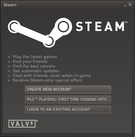 Steam 002 Primer vistazo a Steam en Ubuntu 12.10