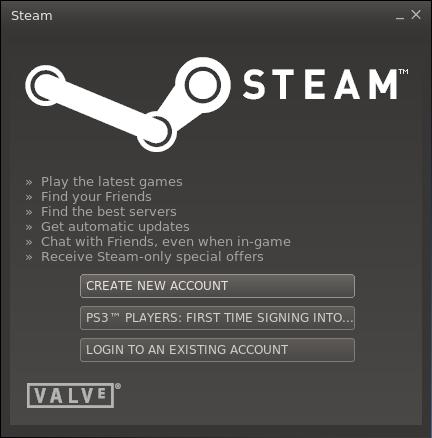 Steam 002 Primer vistazo a Steam en Ubuntu 12.10