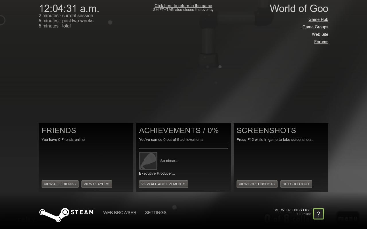 Steaminsidegame Primer vistazo a Steam en Ubuntu 12.10
