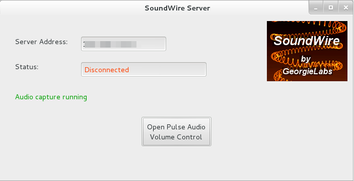 SoundWire Server 0141 Transmite audio desde tu ordenador a Android con SoundWire