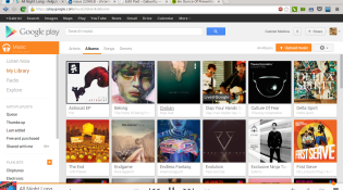 chrome google music