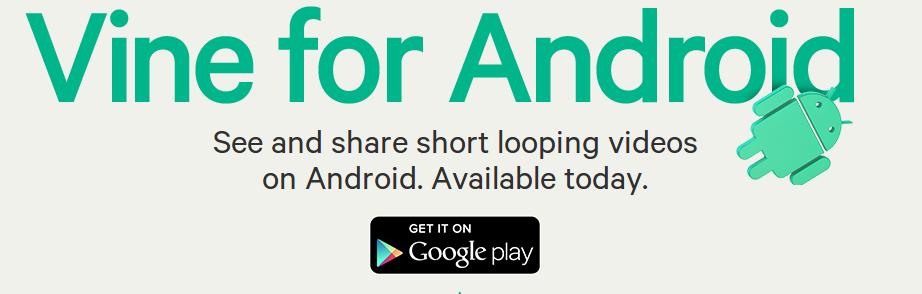 vine Vine finalmente llega a Android