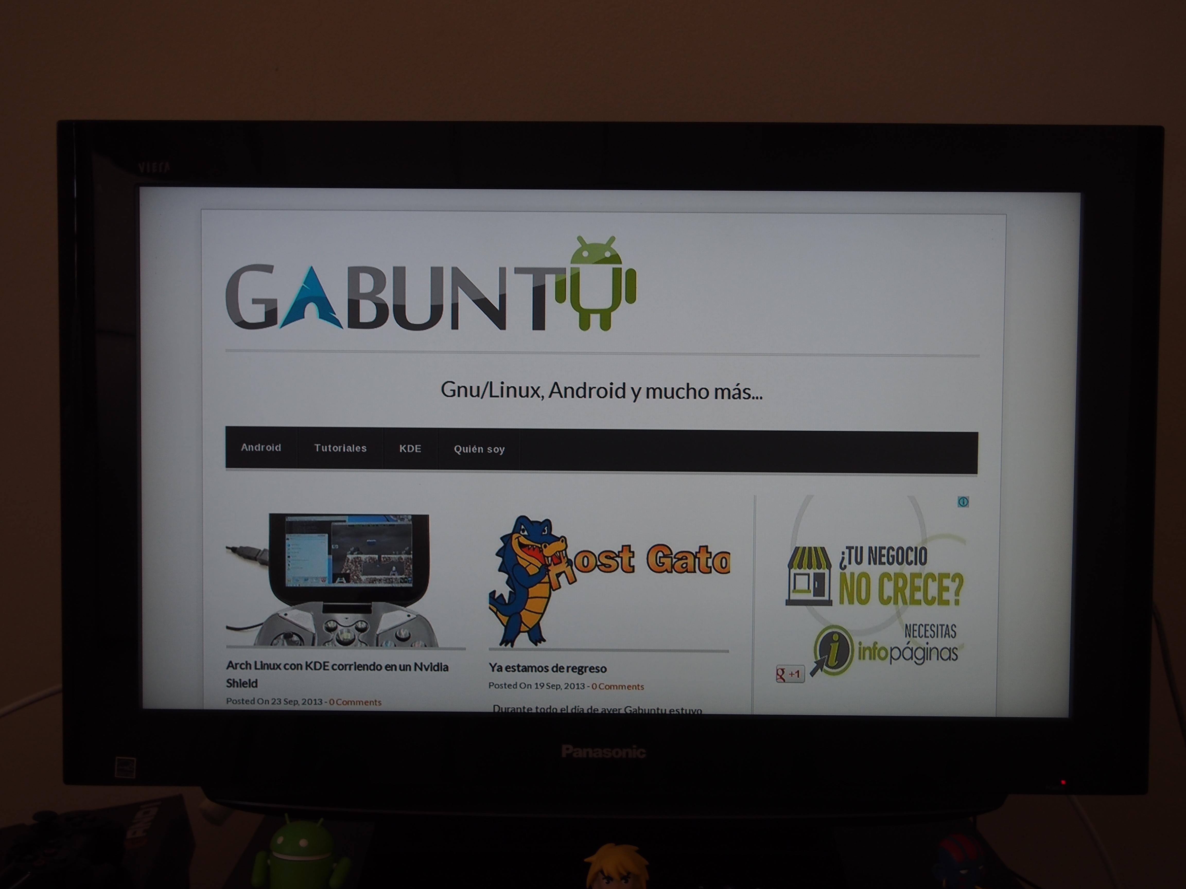 Gabuntu chromecast