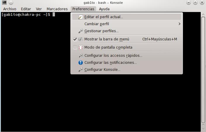 barradesplazamiento KDE4Tips: Embelleciendo el terminal de KDE
