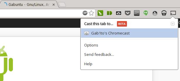 chromecasGabuntu Probando y configurando el Chromecast en Linux