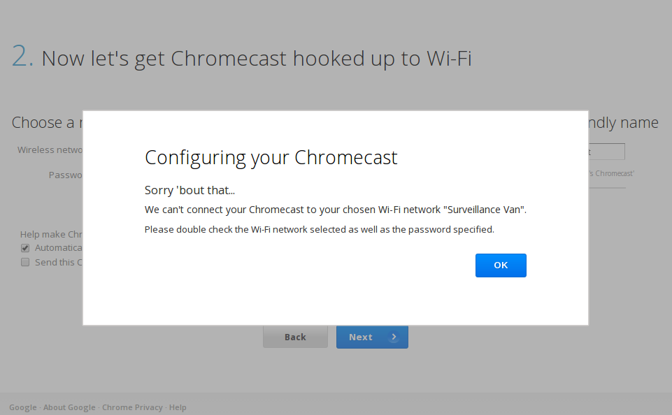 chromecastsetup8 Probando y configurando el Chromecast en Linux