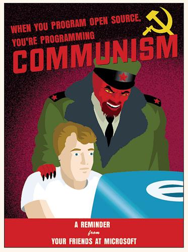 comunismo [Humor]Un pequeño recordatorio de parte de Microsoft