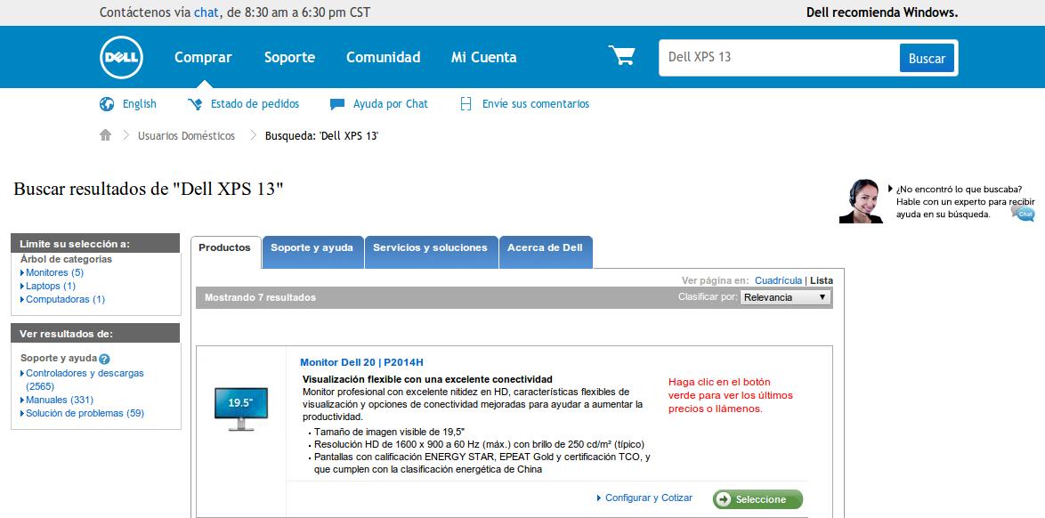 dellxpsbusqueda ¿Qué tan difícil es comprar una Dell XPS 13 con Ubuntu?