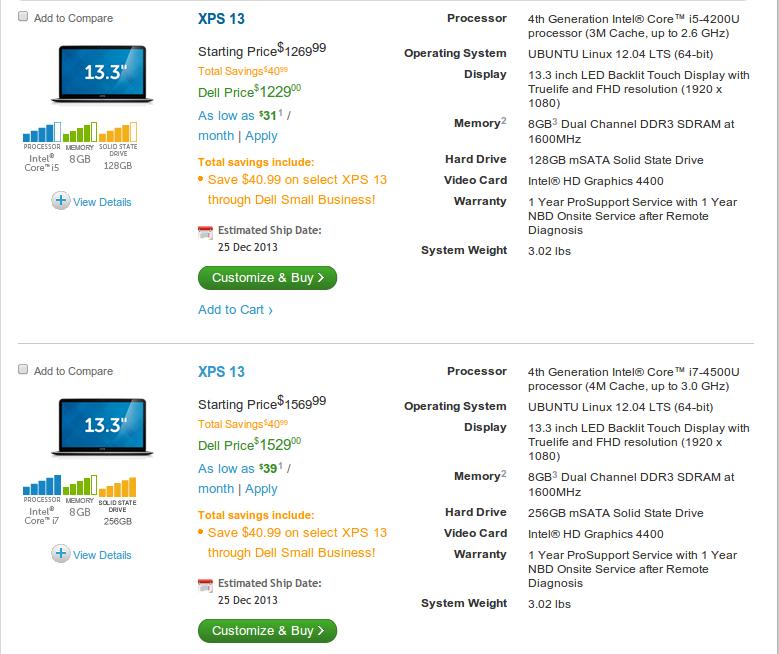 ubuntu13xps ¿Qué tan difícil es comprar una Dell XPS 13 con Ubuntu?