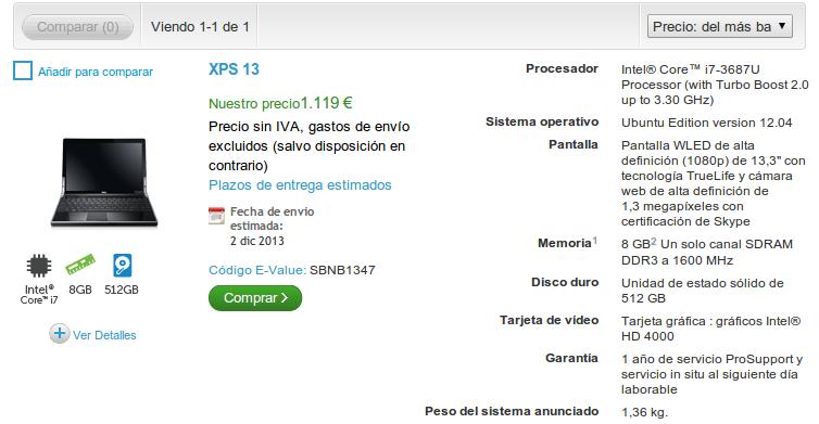 xps13espana ¿Qué tan difícil es comprar una Dell XPS 13 con Ubuntu?