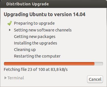 Distribution Upgrade 006 Actualiza a Ubuntu 14.04 LTS desde Ubuntu 13.10