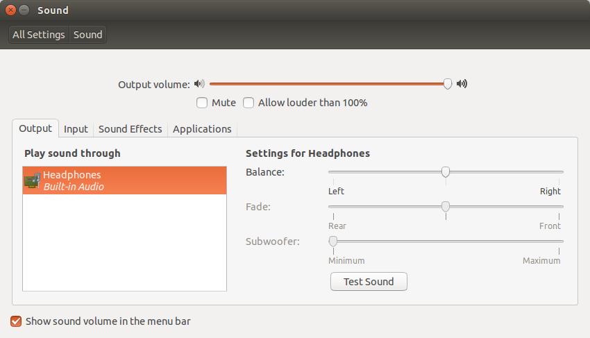 Sound 017 Cómo transmitir audio a través de HDMI en Ubuntu 14.04