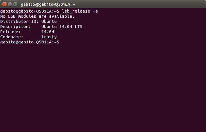 ubuntu 14.04 terminal