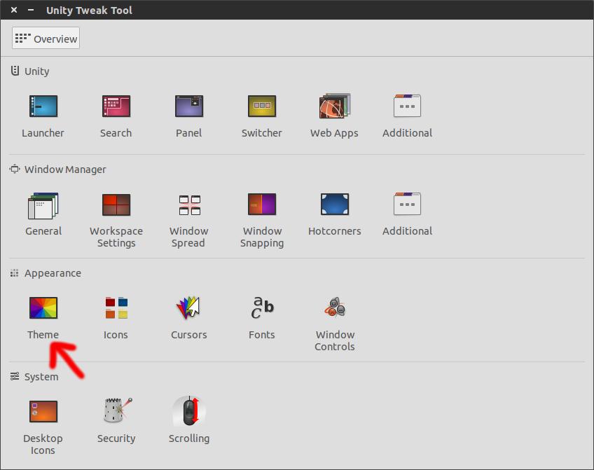 Unity Tweak Tool 020 Embellece Ubuntu con el tema Numix